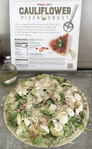 Trader Joe's new Cauliflower Pizza Crust
